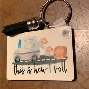 Mail Carrier keychains
